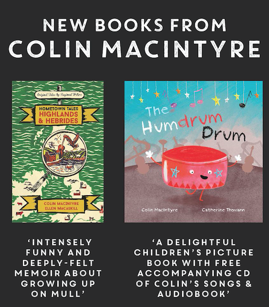 Colin MacIntyre – Author