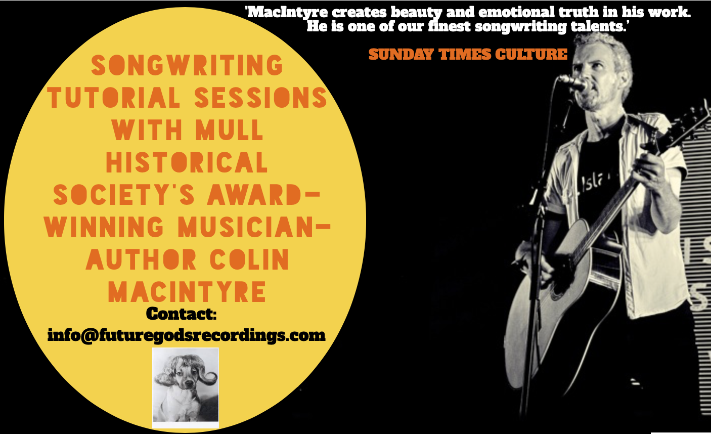 Songwriting Tutorials With Colin!